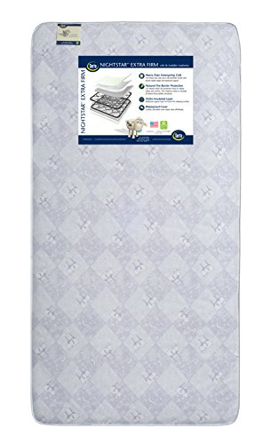 Serta Nightstar Super Firm Crib and Toddler Mattress