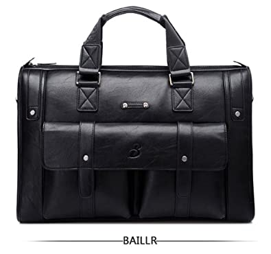 MyLux laptop messenger Handbag 1041-5 black