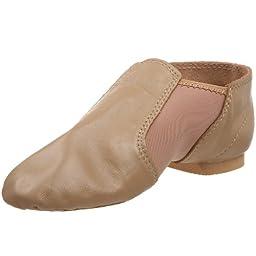 Dance Class GB600 Leather/Spandex Gore (Toddler/Little Kid/Big Kid),Caramel,13 M US Little Kid