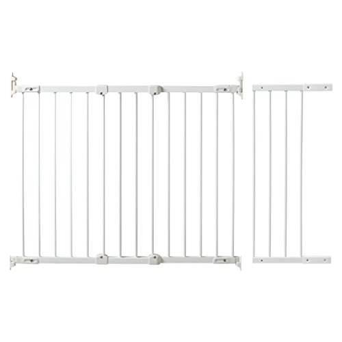 KidCo-Angle-Mount-Safeway-Gate-White-Metal-42-to-525