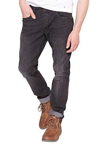 QS by s.Oliver Herren Straight Leg Jeans 40.409.71.8442, Gr. W38/ L34 (Herstellergröße: 38), Grau (denim 97Z5)