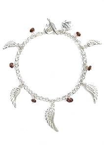 Dower & Hall - AWB3 - S - GNT - Bijoux - accessoires Femme - Argent 925/1000 13.5 Gr - Grenat