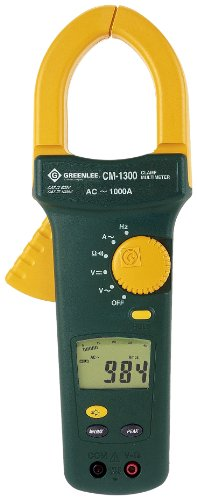 Low Price On Greenlee Cm 1300 Clamp Meter 1000 Amp