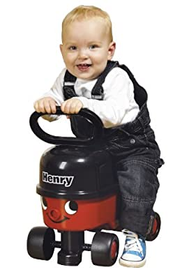 CASDON Little Driver Henry Sit and Ride Toy