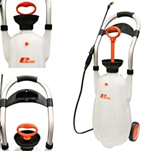 Rhays Eco Portable Pressure Jet Washer Wheeled Car Sprayer 16L 43 PSI