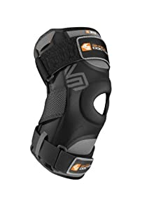 Shock Doctor Knee Support with Dual Hinges (Black) by Shock Doctor
