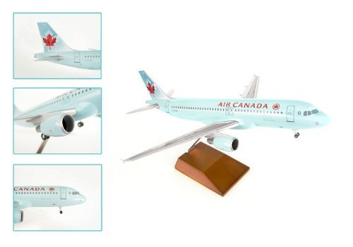 skymarks-supreme-skr8307-air-canada-a320-1-100-with-wood-stand-and-gear-by-daron-worldwide