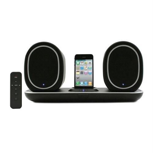 Hip Street HS-IPWSP850 Wireless Indoor/Outdoor iPhone and iPod Docking Speaker System