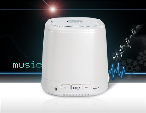Dogo Dg-620 Wireless Bluetooth Speaker With Hands-Free Call, Card Reader & Subwoofer (White)
