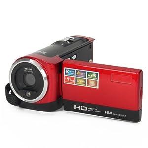 BDLong DV-777-b 2.7 Inch TFT LCD Max 16mp 16x Digital Zoom Video Camcorder - Red