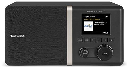 Schaub Lorenz DAB 412 Digitalradio (FM-PLL-Tuner, Senderspeicher, Weckfunktion, Netz/Batteriebetrieb) schwarz/weiß