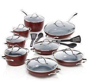 GreenPan Classic Collection It's a Big Deal 20-piece Cook Set - Colors Vary