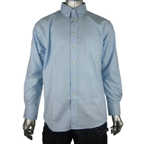 Mens Ben Sherman Oxford Eton Smart Long Sleeve Shirt King Big Sizes 2X