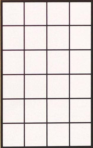 アサヒペン 和紙漉き破れにくい障子紙94cm×3.6m 5501無地 4819h