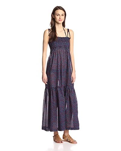 French Connection Women's Ditsy Leaf Maxi Dress