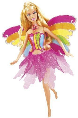Mattel Barbie Fairytopia L3903-0 - Magische Regenbogenfee Elina