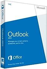 Microsoft Outlook 2013, x32/64, 1u, ENG - Software de correo electrónico (x32/64, 1u, ENG, 3000 MB, 1 GHz, 1024 MB, 1 usuario(s), ENG)
