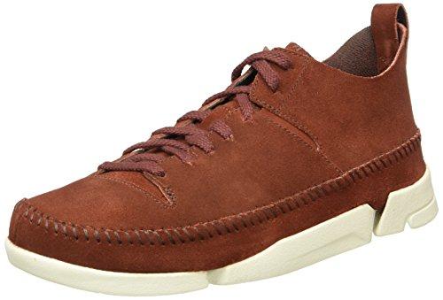 clarks-originals-mens-trigenic-flex-low-top-sneakers-nut-brown-85-uk