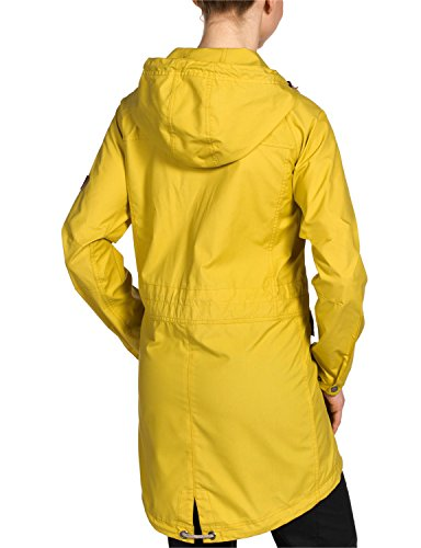 Jack Wolfskin Damen Jacke Magellan Par W, Yellow Moss, M, 1302991-3049003 -
