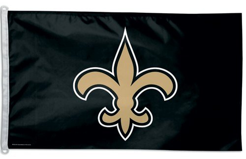 New Orleans Saints 3'x5' Flag at Amazon.com