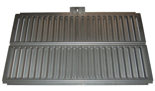 Music City Metals 99511 Stainless Steel Heat Plate Replacement for Select Ducane Gas Grill Models