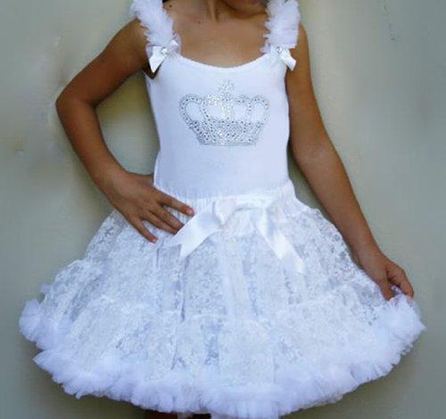 Oopsy Daisy Girl Crown Bling Pettiskirt Dress. Princess Tutu Dress ...