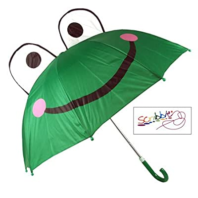 (Scribble) Kids Frog Umbrella