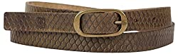 Leder Concept's Rusty Brown Women's Genuine Leather Belt (BW023_26, Brown, 26)