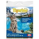 Doppelpack Tigerino Canada Katzenstreu - Parfümfrei 2 x 15kg -