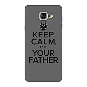 Grey Calm Father Back Case Cover for Galaxy A7 2016