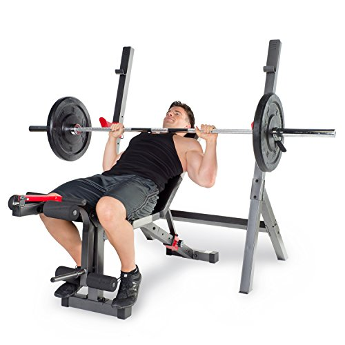 Cap Barbell Strength Olympic Bench With Preacher Pad Import It All