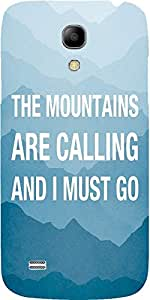 Snoogg Wanderlust Mountains Are Calling 2868 Case Cover For Samsung Galaxy S4...