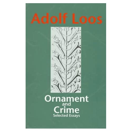 Ornament and crime essay