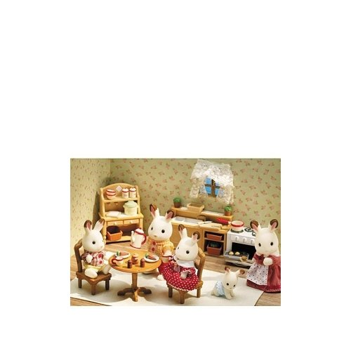 Details about Calico Critters Deluxe Kitchen Set , New, Free Shipping
