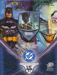 DC VS System Trading Card Game 2Player Starter Deck Batman Vs. Joker