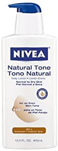 Nivea Body Natural Tone Lotion, 13.5-Ounce Bottle (Pack of 3)