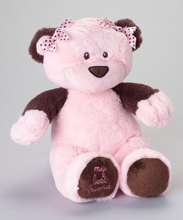 Baby Essentials Plush Pink Bear