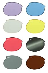 ILS Replacement Lenses Size: Extra Small, Color: Purple