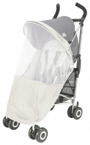 White Mosquito Bugs Net Mesh Cover for Baby Bassinets Schwinn jogger strollers