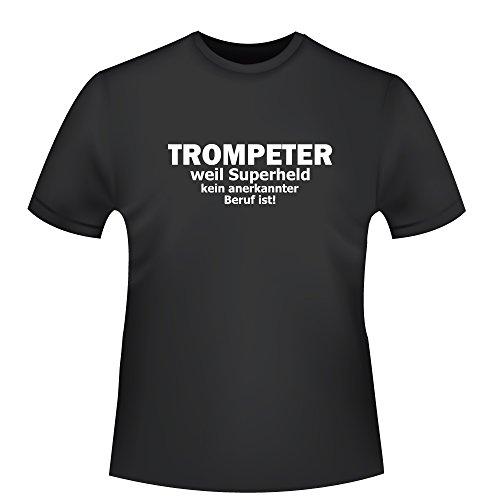 Trompeter-weil-Superheld-kein-anerkannter-Beruf-ist-Herren-T-Shirt-Fairtrade-ID103231