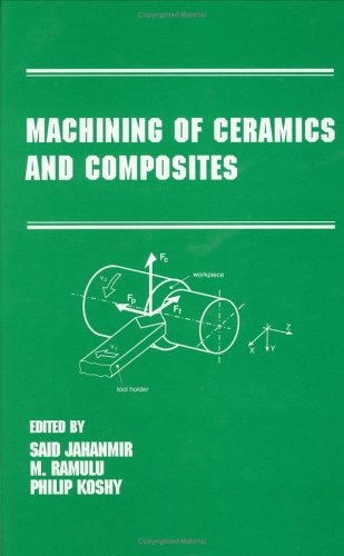 Machining Of Ceramics And Composites (Manufacturing Engineering And Materials Processing)