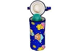 Ole Baby Bunny Print Assorted Single Portable Infant Feeding Milk Food Bottle Thermal Warmer Bag Storage Holder (Upto 250ml each)