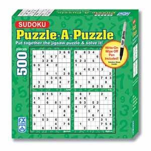 FX Schmid Sudoku Wipe-Off Puzzle, 500pc - 1