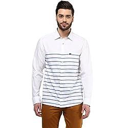 Byford by Pantaloons Men's Shirt _Size_ 44
