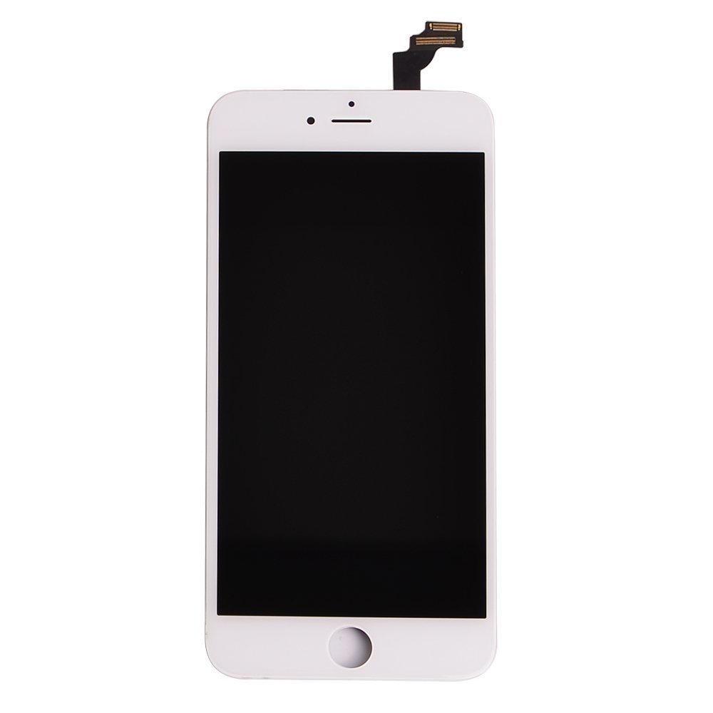 "OEM White LCD Display Touch Digitizer Screen Assembly Replacement for iPhone 6 Plus 5.5"" Model A1522 / A1524"