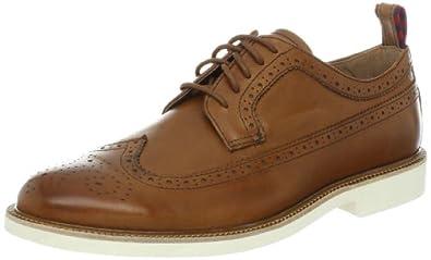 (高端)Ralph Lauren 拉夫劳伦 男士真皮休闲系带乐福鞋 棕色 $124.99
