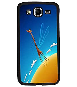 PrintDhaba Angel Giraffe D-2016 Back Case Cover for SAMSUNG GALAXY MEGA 5.8 (Multi-Coloured)