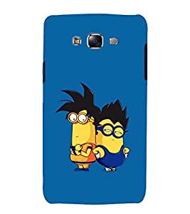 printtech Minions Dragonball Back Case Cover for Samsung Galaxy J7 (2016 EDITION)