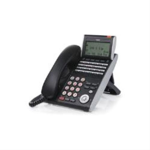 NEC DT710 24-key Telephone with Digital Display (Black) images