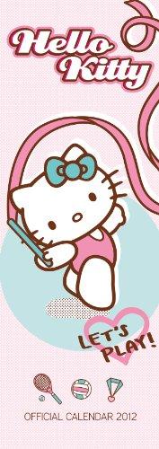 Official Hello Kitty Slim Calendar 2012